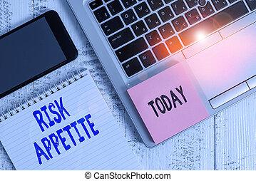風險, showcasing, smartphone, 被統治, 事務, 接受, 手, notepad, 筆記, 水平, 膝上型, 顯示, 黏性, 木制, 組織, 概念性, 準備, 寫, appetite., 桌子。, 相片