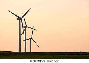 風, 代替エネルギー, 力
