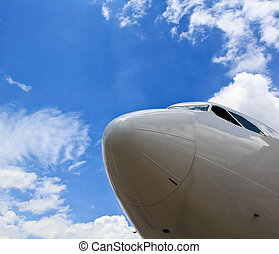 飛機, 機場, 停車處