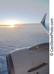 飛行機の 翼
