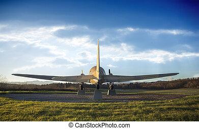 飛行機, 古い