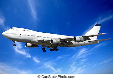 飛行機, 雲