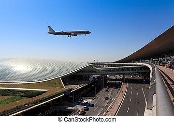 飛行, 北京, 到着, t3