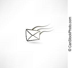 飛行, 手紙