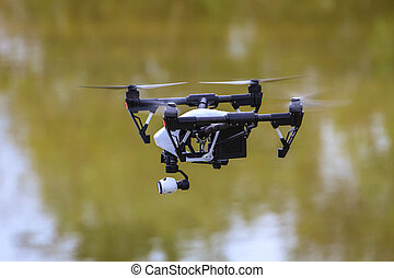 飛行, 空, 無人機