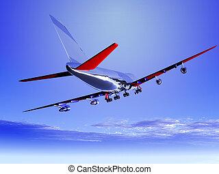 飛行, 飛行機