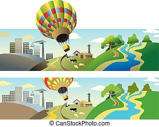 飛行, balloon