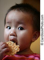 食べること, 子供