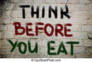 食べること, 概念