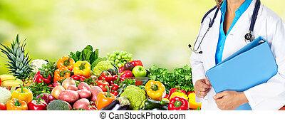 食事, そして, 健康, care.