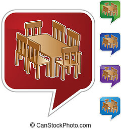 食堂 テーブル