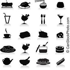 食物と飲み物, アイコン
