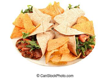 食物メキシコ人, カラフルである