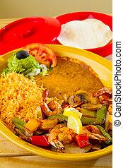 食物メキシコ人, レストラン
