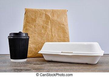 食物容器, テークアウト