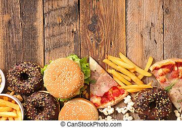 食物, がらくた, 分類される