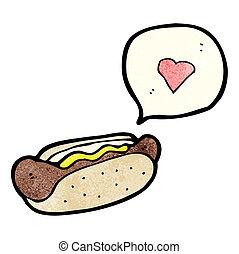 食物, がらくた, 漫画
