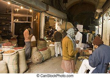 食物, デリー, 市場