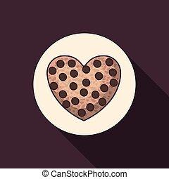食物, パン屋, デザイン, coockie