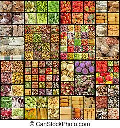 食物, 拼貼藝術