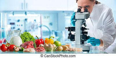 食物, 控制, 概念, 質量