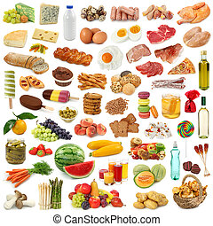 食物, 收集