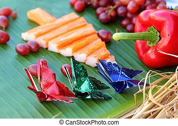 食物, 木, デザイン, クリスマス