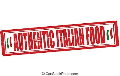 食物, 正しい, イタリア語