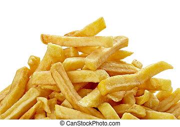 食物, 法國油炸土豆, 不健康, 快