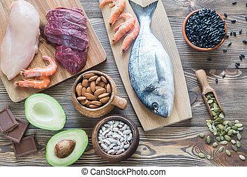 食物, 源, 亜鉛