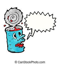食物, 狂気, 缶, 漫画
