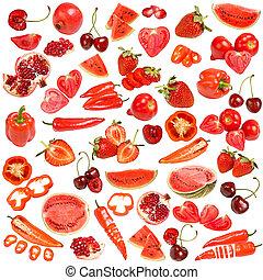食物, 紅色, 彙整
