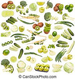 食物, 綠色, 彙整