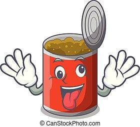 食物, 缶詰にされる, 狂気, テーブルクロス, 漫画