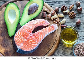 食物, 脂肪, omega-3