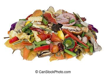 食物, 腐った, 積み重ね