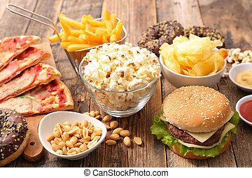 食物, 舢板, 多樣混合