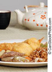 食物, 茶具, 漢語