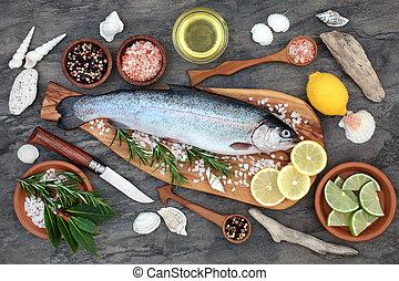食物, 虹, 健康, マス
