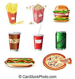 食物, 速い