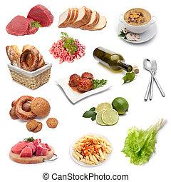 食物, 集合