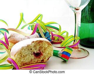 &, 食物, 飲料, 新年, 黨