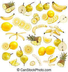食物, 黃色, 彙整