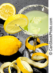 飲みなさい, レモン, カクテル