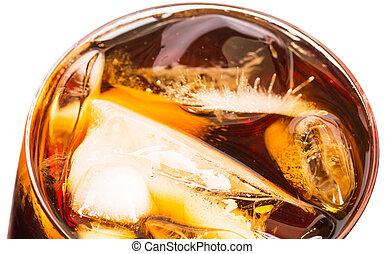 飲みなさい, 氷, コーラ