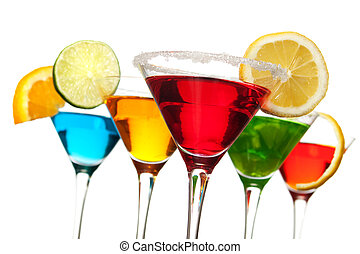 飲みなさい, 赤, カクテル