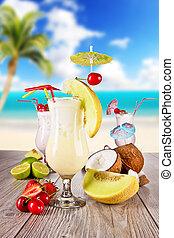 飲み物, 夏