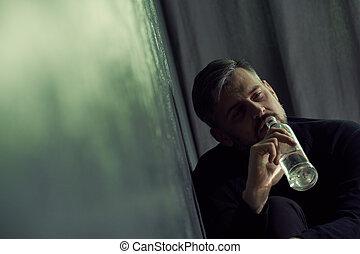 飲むこと, アルコール, 人