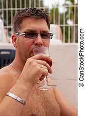 飲むこと, 人, rosé, ワイン