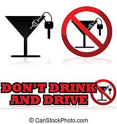 飲むこと, 運転